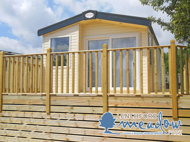 Lenchford Meadow Caravan Park in Shrawley, WORCESTERSHIRE