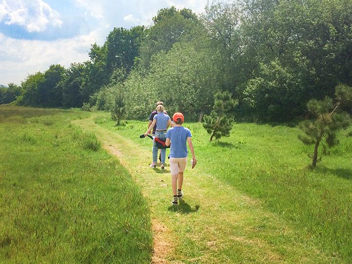 Nature trail at Arrow Bank