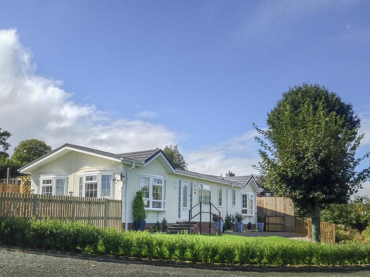 Residential park homes at Rockbridge