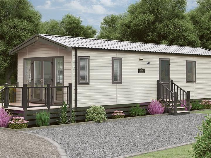 Swift Biarritz Show Home at Blakemere Holiday Park