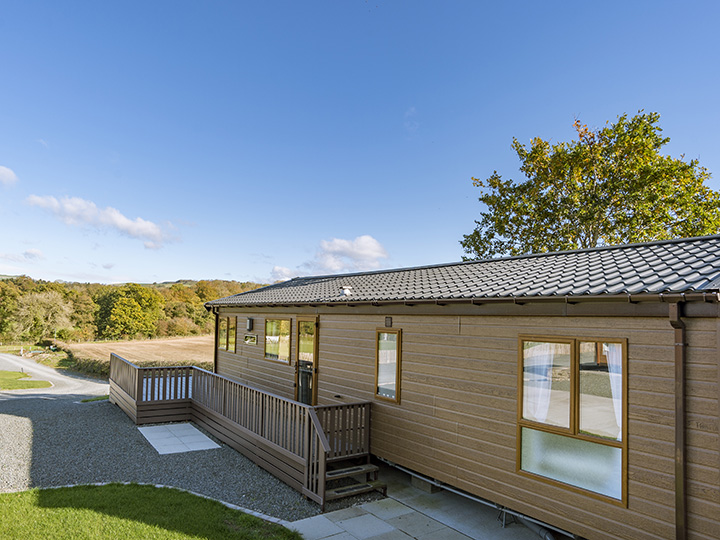 New premium lodge pitches at Rockbridge