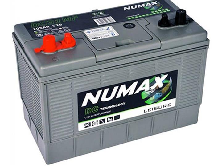 Caravan Accessories-Numax DC31 105AH Motor Mover Leisure Battery