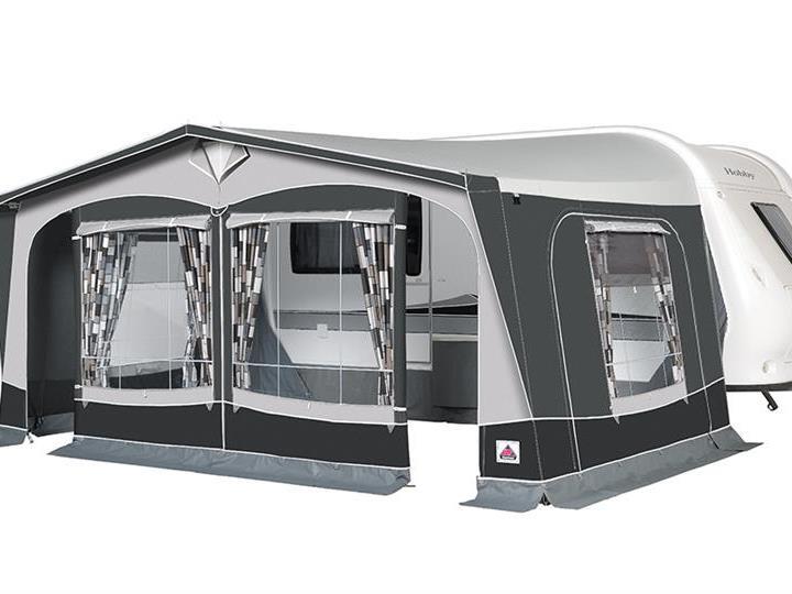 Caravan Awnings-Dorema President XL280 De Luxe - From £1,089