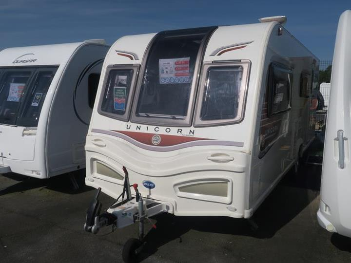 Used Touring Caravans-Bailey Unicorn II Madrid