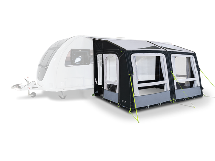 Caravan Awnings-Kampa Rally Air Pro 390