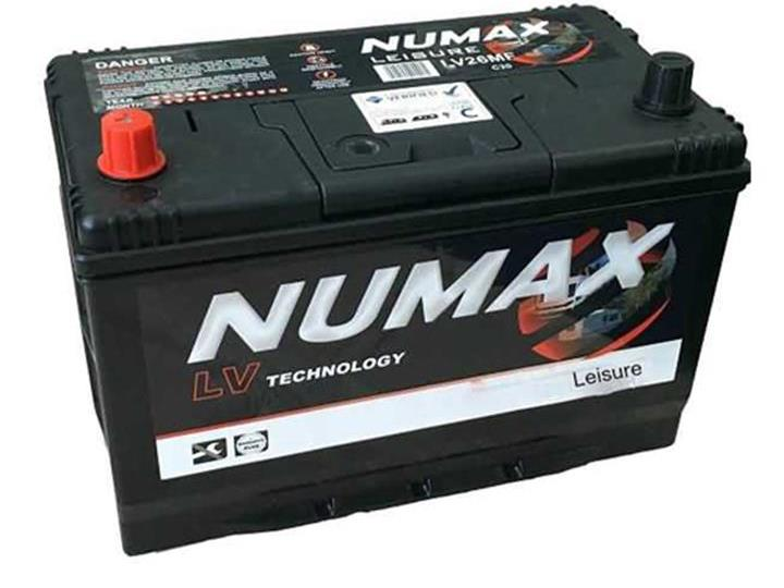 Caravan Accessories-Numax LV26 95AH Leisure Battery