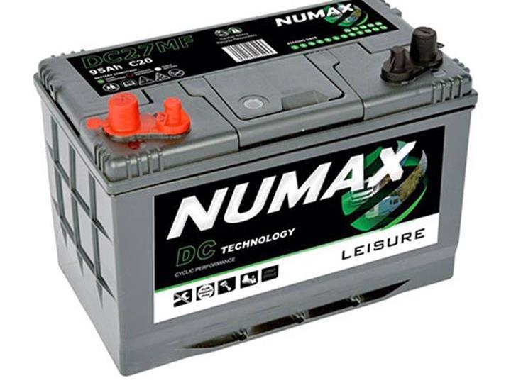 Caravan Accessories-Numax DC27 95AH Motor Mover Leisure Battery