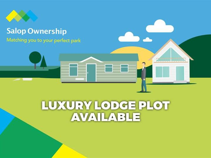 40ft x 20ft pitch available for the luxury lodge of your choice